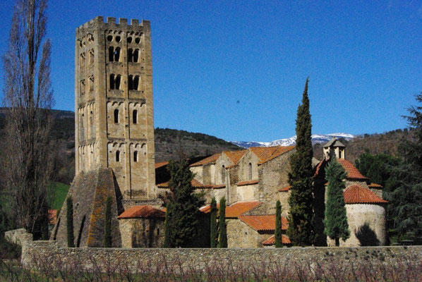 Abbey St Michel near to Prades