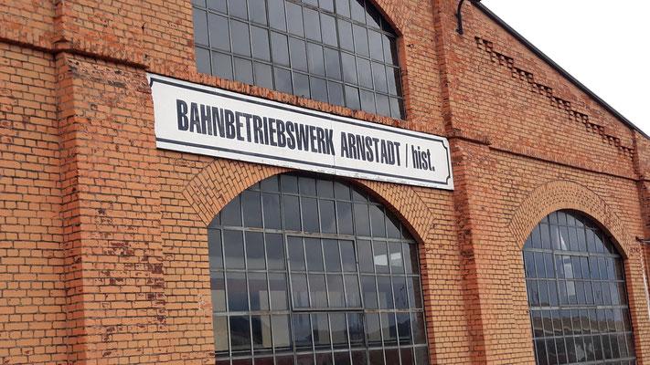 In Arnstadt angekommen