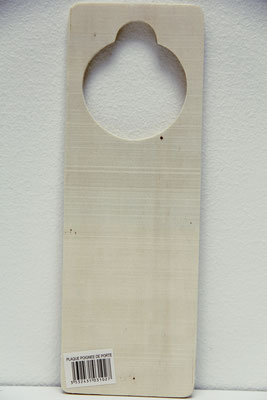 Houten deurhangers