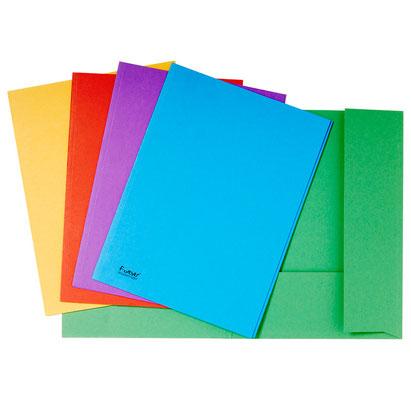 Dossiermappen met kleppen