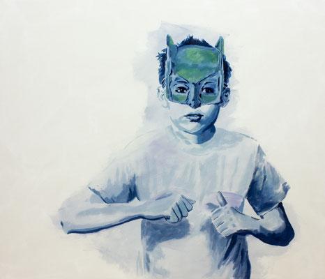 Sidekick – Marcel, Öl auf Nessel, 90 x 105 cm, 2019