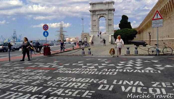Ancona, Arco di Traiano - Porto Antico