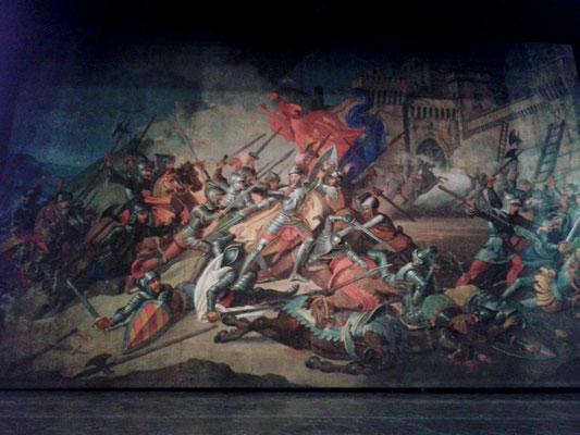 Teatro Comunale, sipario storico