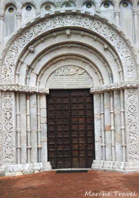 Ancona, Portale della Chiesa di Santa Maria della Piazza