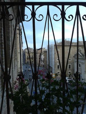Veduta dai giardini del Palazzo Vescovile