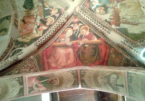 Affreschi della Chiesa di S. Nicolò