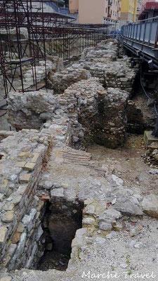 Ancona, Resti archeologici del Porto Antico