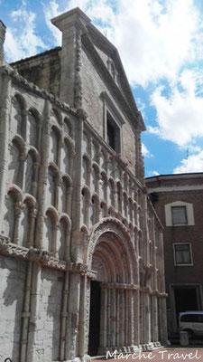 Ancona, Facciata della Chiesa di Santa Maria della Piazza