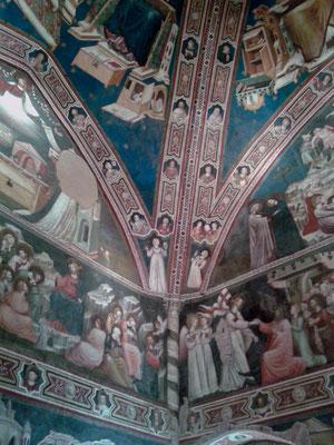 Affreschi del Cappellone - Basilica di S. Nicola