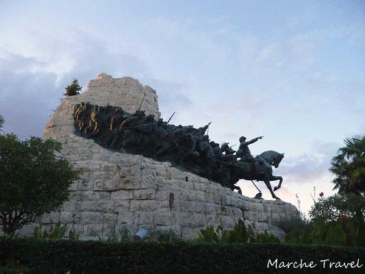 Castelfidardo, Monumento Nazionale per il 50^ anniversario dell'Unità d'Italia