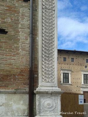 Urbino, Palazzo Ducale, particolare