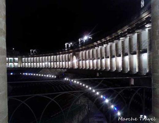 Macerata, Sferisterio in notturna