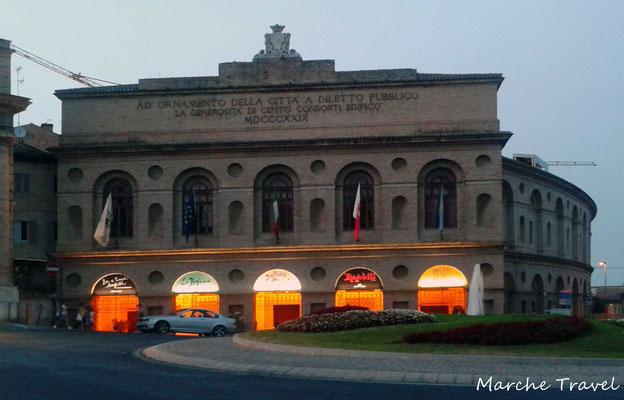 Sferisterio di Macerata, facciata