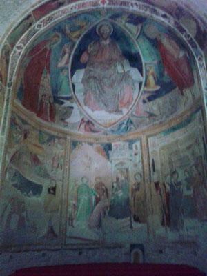 Affresco S. Maria a Pìè di Chienti, Montecosaro