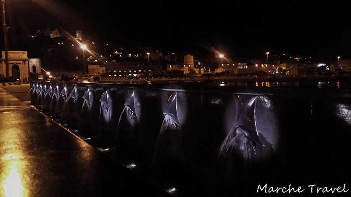 Ancona, Fontana dei due soli - Porto Antico
