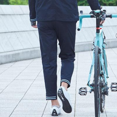 サイクルパンツ、自転車通勤、メンズ、カジュアル、サイクルウェア、ベンチレーション