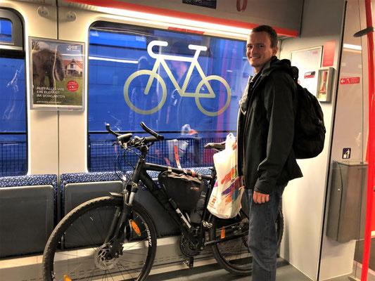 OBB、鉄道、自転車、輪行