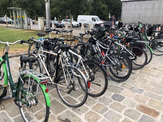シェーンブルン自転車