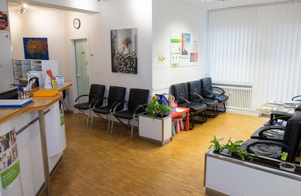 Wartezimmer Arztpraxis