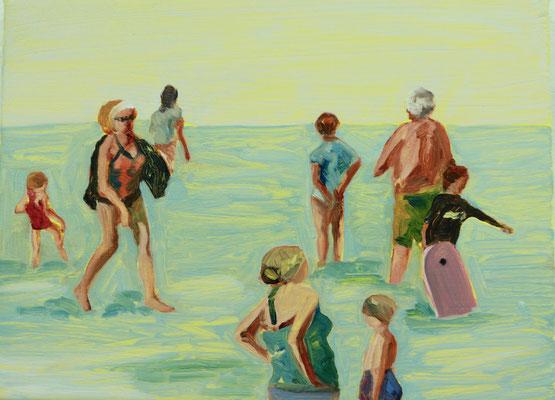 Treyarnon Bay, 2017, 30 x 40 cm
