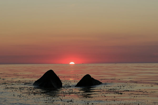 Sonnenuntergang an der Kielerbucht