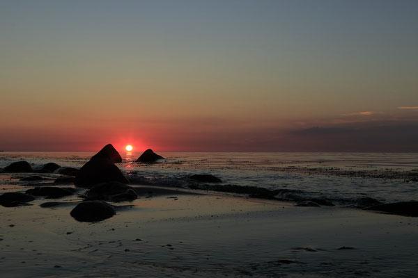 Ruhe kehrt an der Ostseeküste ein