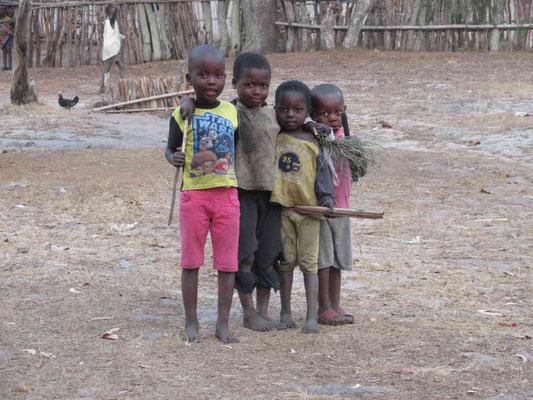 Kinder lassen sich gerne Fotografieren