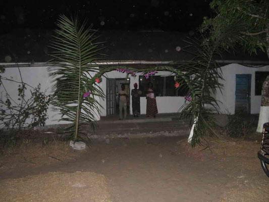 Empfang mit Palmzweigen in Matamba-Solo