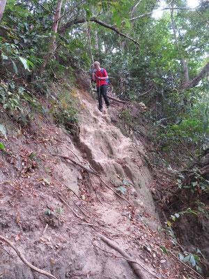 Steilstufe zur Quelle