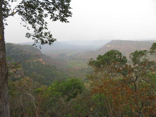 Landschaft von Matamba-Solo