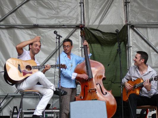 Bardentreffen Nürnberg 2008, damals im Trio.