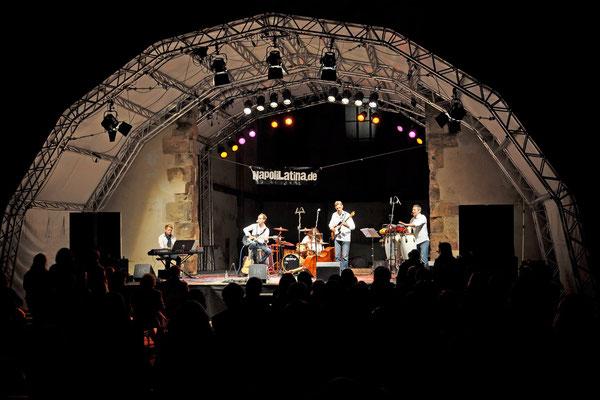 Katharinenruine Nürnberg, ein wunderschöner Ort um Musik zu spielen.