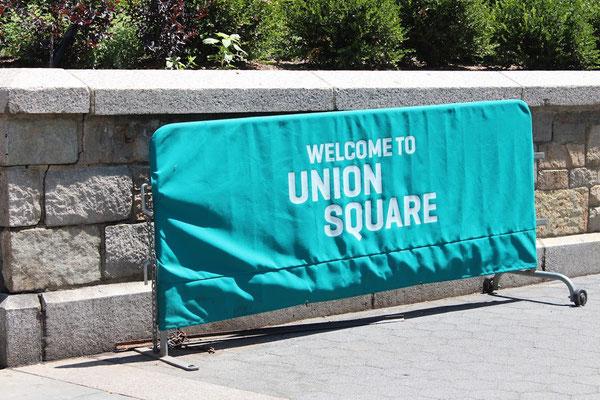 Union Square公園の入り口