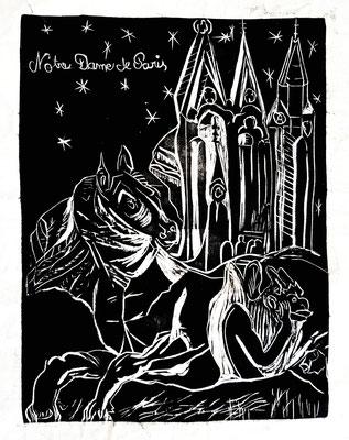 le Pégase de Notre Dame de Paris