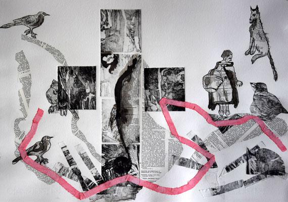 les secrets du Chaperon Rouge,35x50
