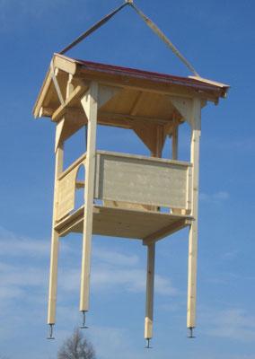 Spielturm in der Luft
