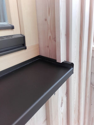 Boden-Deckel-Schallung aus Lärche