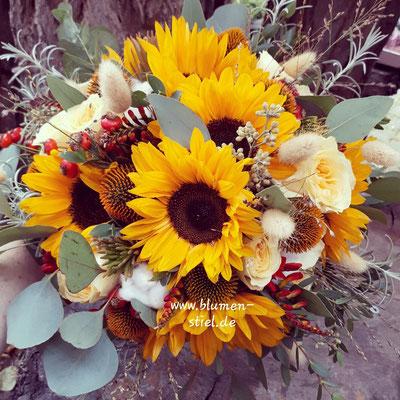 Brautstrauß Wedding Hochzeit Enzkreis Bridalbouquet Weddingbouquet Brautstrauss Braut Sonnenblumen