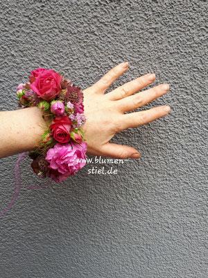 Armband floralesarmband Trauzeugin Brautjungfer Hochzeit