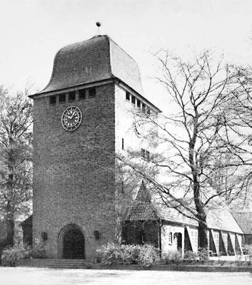 Die St. Lukas-Kirche nach dem Umbau im Jahre 1938