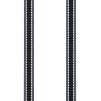 Streifen-Breit-Schwarz