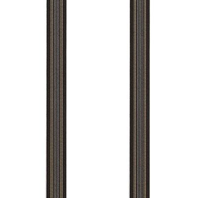 Streifen-Diverse-Braun