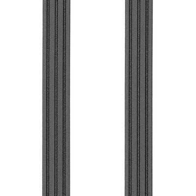 Streifen-Stresemann-Grau