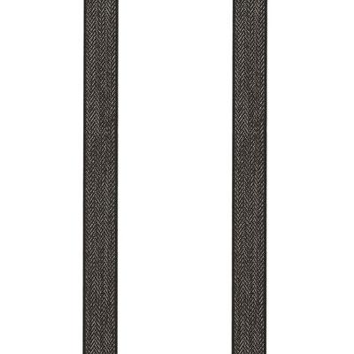 Einfarbig-Struktur-Braun
