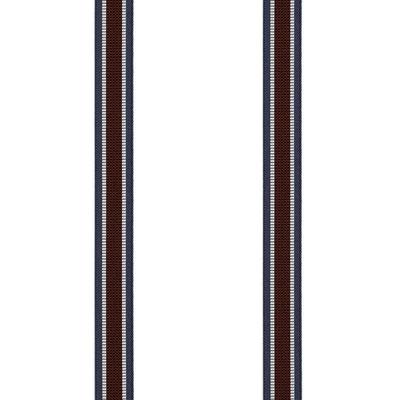 Streifen-Breit-Weinrot