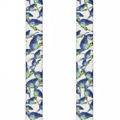 Muster-Vogel-Weiß