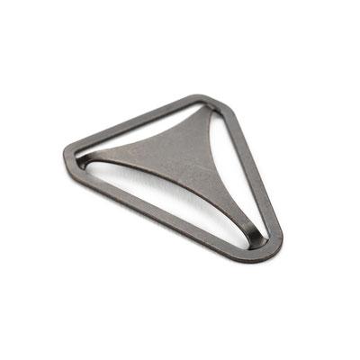 Hosenträger Metallrückenteil Altmessing