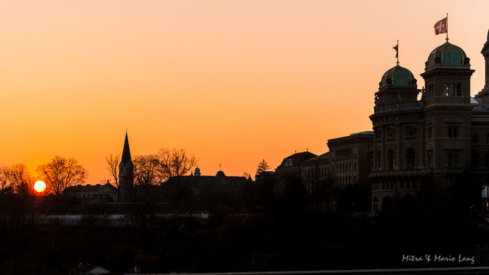 Landschaftsfotografie Bundeshaus