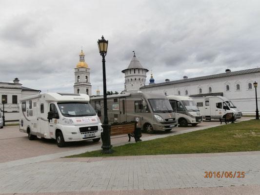 Titine au repos à Tobolsk