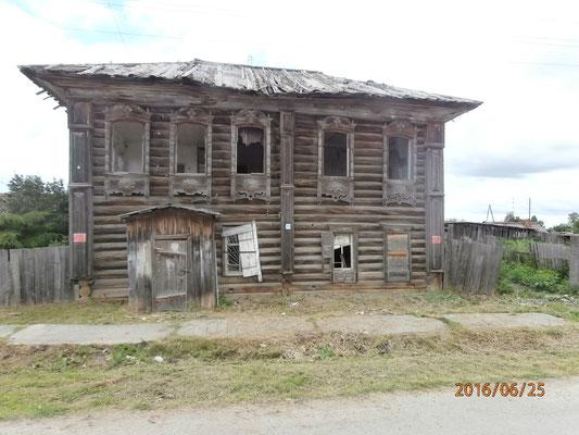 Une maison dans ce village